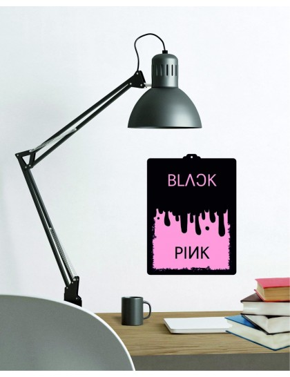 BlackPink Pembe&Siyah Duvar Tablosu