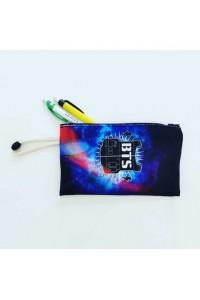 BTS Logo Baskılı İpli Bez Cüzdan Kalemlik