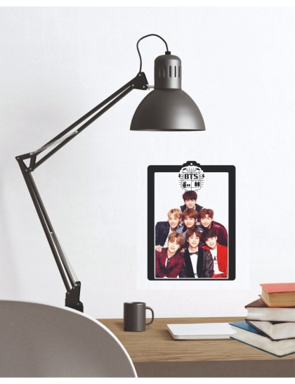 BTS Tasarımlı Duvar Tablosu