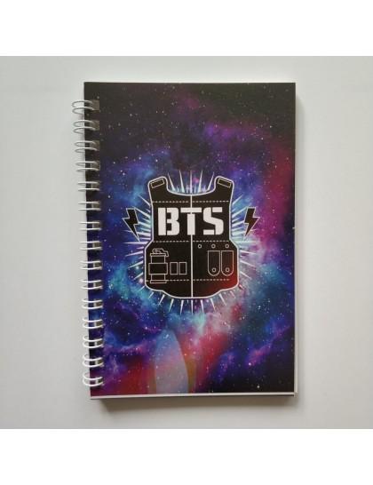 BTS Kırtasiye Not Defteri Logo