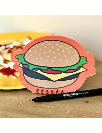 Hamburger Tasarımlı Not Defter