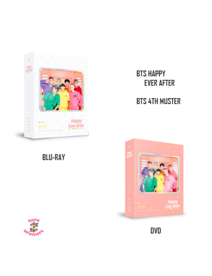 BTS - BTS 4th MUSTER Happy Ever After Set