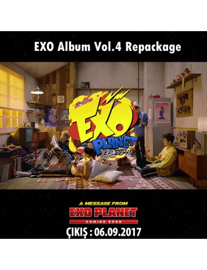 EXO - THE WAR Albüm Vol.4 ( The Power Of Music )