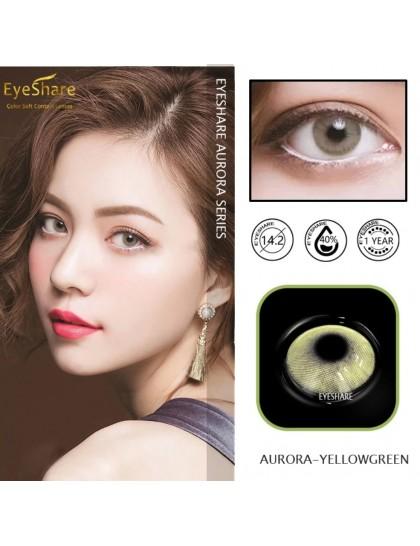 Yeşil - Sarı Lens ( Derecesiz)