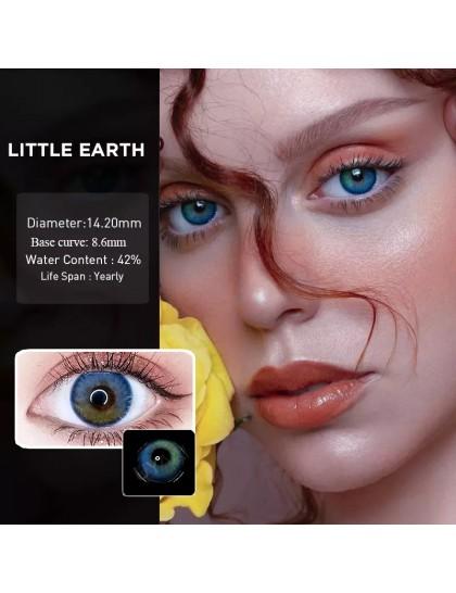 Little Earth Mavi & Yeşil ( Derecesiz)