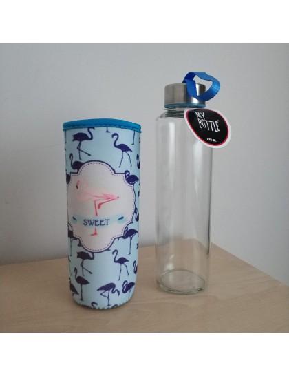 My Bottle Cam Şişe Mavi