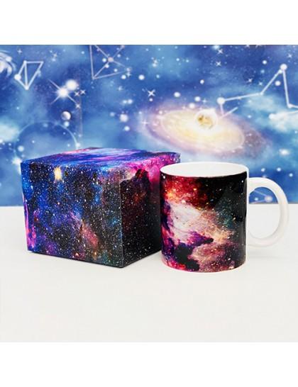 Galaksi Tasarımlı Karton Kutulu Kupa