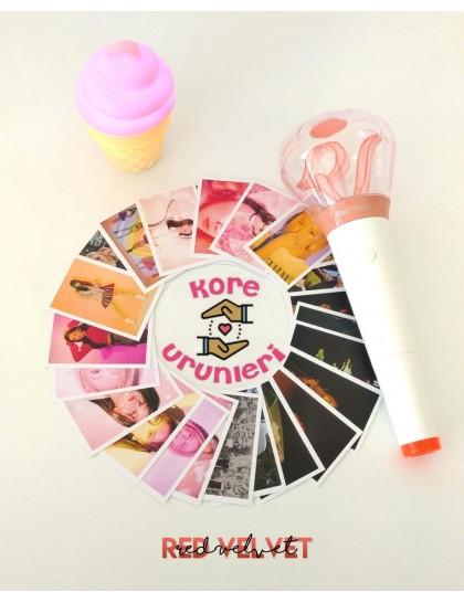 Red Velvet 30lu Fotokart Set