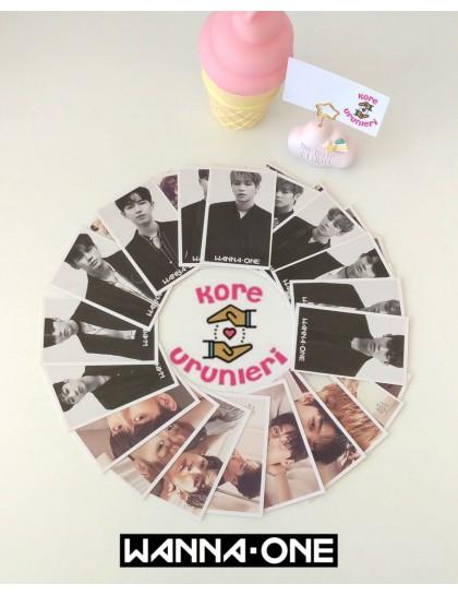 Wanna One 30lu Fotokart Set