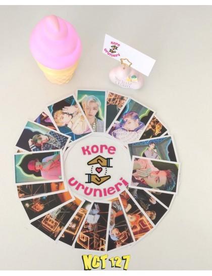 NCT 127 30lu Fotokart Set