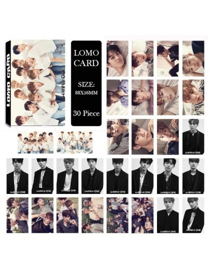 Wanna One 30lu Fotokart Set