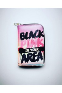 Blackpink In Your Area Baskılı Cüzdan