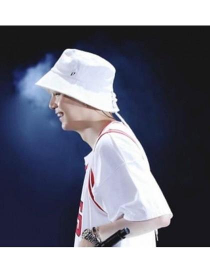 Beyaz Piercing  Bucket Şapka