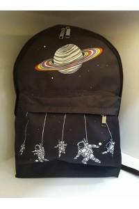 Galaksi Desenli Çanta