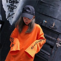Urban Stil Kpop Bay & Bayan Uzun Kollu  Sweat