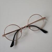 Harry Potter Tarzı  Gözlük  Altın