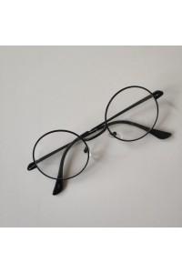 Harry Potter Tarzı  Gözlük  Siyah