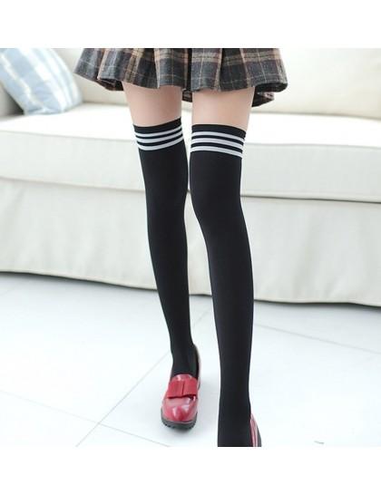 Uzun İnce Diz Üstü Çorap 43 cm Siyah