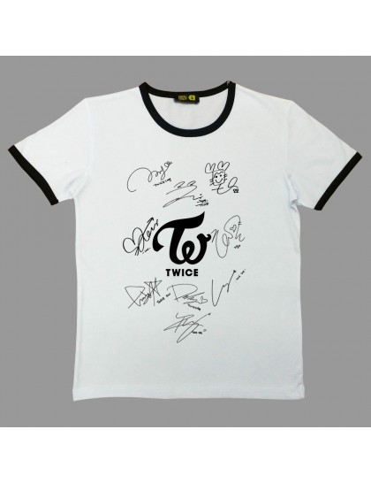Twice Signatura Logo Tshirt