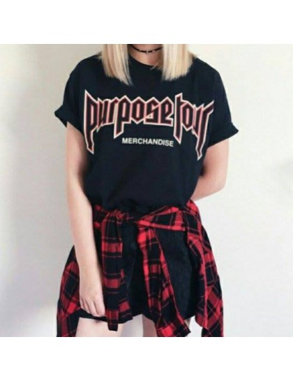 Purpose Tour Siyah Tshirt